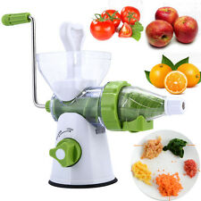 Professional Fruit Juicer Manual Vegetable Juice Maker Squeezer Carrot Extractor