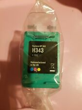 HP 343 colour Ink Compatible Remanufactured Cartridge BNIP Jet printer