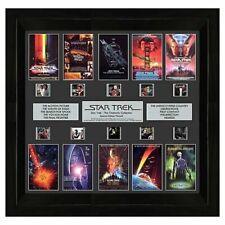 Film Cell Genuine 35mm Framed Star Trek Collection Montage *New