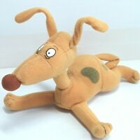 Rugrats Spike Dog plush soft toy doll Applause Small Vintage 1997 1990s