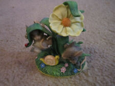 """Hangin Around� Charming Tails Mice & Snail Figurine"