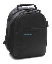 Maxsimafoto - Photographers Backpack Rucksack Camera Bag fits Nikon D5100 D5200