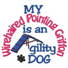 My Wirehaired Pointing Griffon is An Agility Dog Short-Sleeved Tee - Dc1928L