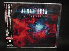 ARMAGEDDON Crossing The Rubicon Revisited + 2 JAPAN CD Arch Enemy Pokolgep