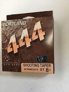CORTLAND 444 INTERMEDIATE SHOOTING TAPER  ST8I FLY LINE  MSRP $25.00