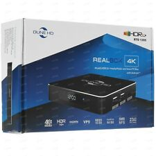 *NEW* Dune HD Realbox 4K, 4Kp60 HDR10+ Media Player, Android Smart TV box