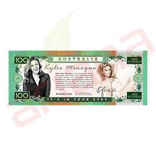Kylie Minoque - Australian 100 Dollar Novelty Money