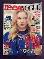 Teen Vogue Magazine March 2009 Taylor Swift cover