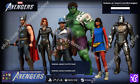 Marvel's Avengers DLC Pre-Order Bonus Legacy Outfit Pack & Nameplate PC PS4 Xbox