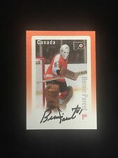 PHILADELPHIA FLYERS BERNIE PARENT AUTOGRAPHED STAMP CARD W/COA