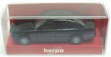 Herpa nº 2065 BMW 535i e34 (Noir, intégré miroir) - NEUF dans sa boîte