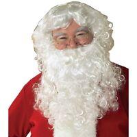 Rubie's Value Wigs Santa Beard And Set, White, One Size