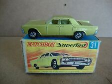 Matchbox Superfast SF31A Lincoln Continental in OVP