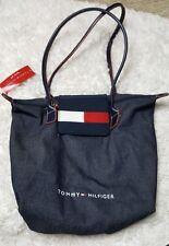 NEW Tommy Hilfiger Denim Purse Tote Bag Bonus Gift