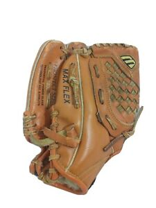 "Mizuno MPR 100 10"" Youth Leather Baseball Glove Prospect Flex PowerClose LHT"