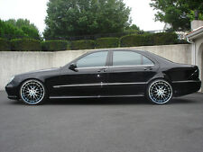 "19"" MRR GT1 Chrome Wheels For Mercedes S430 S500 S550 S600 Deep Dish Rims Set 4"