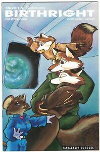 Critters #47 VF/NM; Fantagraphics | steven a. gallacci's birthright #1