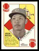 2015 TOPPS HERITAGE '51 MINI GREEN BACK ADDISON RUSSELL RC CUBS #77 PARALLEL