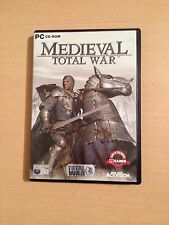 Medieval Total War pc game including manual