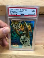 Shaquille O'Neal 1996-97 Skybox Z-Force SC9 (PSA 9)  **ULTRA RARE**