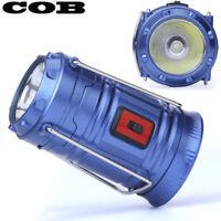 Portable COB LED Super Bright Camping Lantern Tent Fishing Outdoor Lamp Light