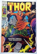 Thor 163 Stan Lee, Jack Kirby 1969