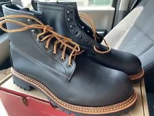 Rare New Red Wing 2930 Factory Seconds Nib Black Ice Cutter Otter Trail