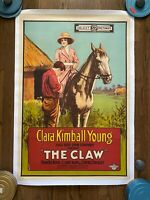 THE CLAW (1918) Clara Kimball Young & Milton Sills African-Set LOST SILENT FILM