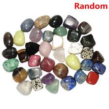 2PCS Natural Crystal Tumbled Stone Chakra Polished Rocks Gemstone Xmas Gift