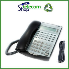 NEC Topaz IP2AT-12TXD Telephone in Black Wall Mounted W/O Stand
