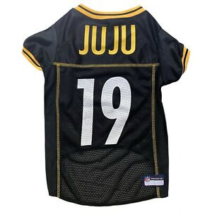 JUJU Smith-Schuster #19 Pittsburgh Steelers NFL Licensed Dog Jersey Sizes XS-XL