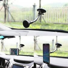 360º Car Magnetic Phone Holder Suction Cup Windshield Dashboard Mount Stand BK