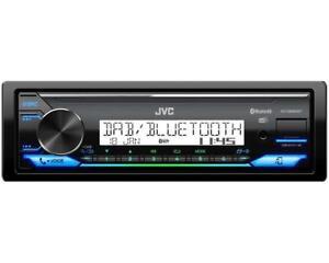 JVC KD-X38MDBT Marine DAB+ USB AUX Digital Media Tuner Outdoor Boot Yacht Radio