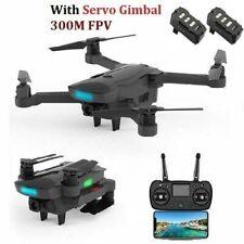 AOSENMA CG033 5G FPV FHD Servo Gimbal Brushless RC Drone Quadcopter+2* Battery
