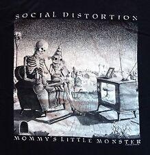 Vintage SOCIAL DISTORTION 90s MOMMY'S LITTLE MONSTER T-SHIRT punk tour