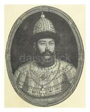 Ivan The Terrible Vasilyevich Russian Tsar Moscow  6x5 Inch Print