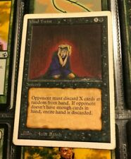 MTG, Magic the Gathering,  Mind Twist unlimited. Free Shipping