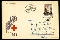Germany DDR Scarce Stamped First Day Cover FDC Listed High in Catalog