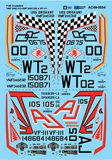 Microscale ADHESIVOS 1/48 f-8e CRUZADOS VMF ( AW) 312 , ( AW) 232 & vf-111 #AC48