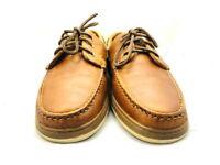 """Allen Edmonds Men's Shoes """"Eastport"""" Boat Shoes Brown 11 E (177)"""