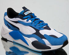 Puma RS-X3 Super Men's Palace Blue White Navy Casual Lifestyle Sneakers Shoes