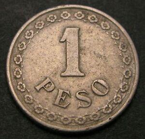PARAGUAY 1 Peso 1925 - Copper/Nickel - VF - 1814