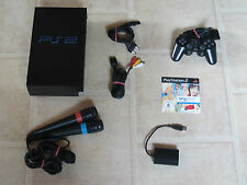Playstation 2 Fat komplett mit Controller + Singstar Demo + Micros