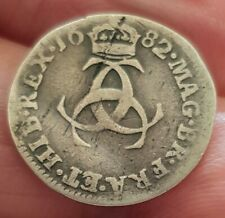 More details for 1682 charles ii maundy threepence clear detail