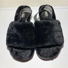 UGG Kookaburra Women's Fluff Yeah Slide Slipper Size 9 Elastic Heel