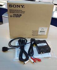 Sony Xa-110ip Auto Interfaccia Adattatore Per iPod (30-Pin) Ricondizionato OS#121
