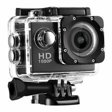 Action Camera 1080P 12MP Sports Camera HD 2.0 Inch Action Cam Waterproof Black