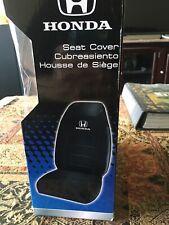 Plasticolor Honda Sport Vinyl Seat Cover ?? Black/White 006578RO1