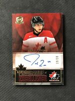 2012-13 UPPER DECK THE CUP JORDAN EBERLE PROGRAMME OF EXCELLENCE AUTO #ed 10/10