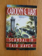 Carolyn G. Hart Scandal in Fair Haven 1st ed Advance Reading Copy SC SIGNED New